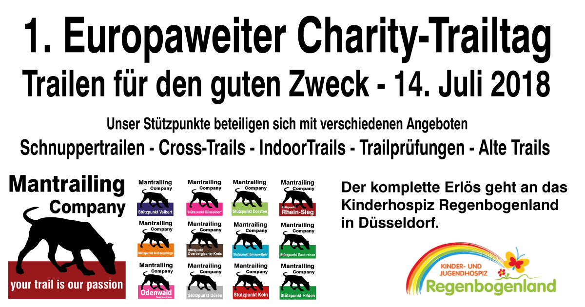 Mantrailing Company Charity